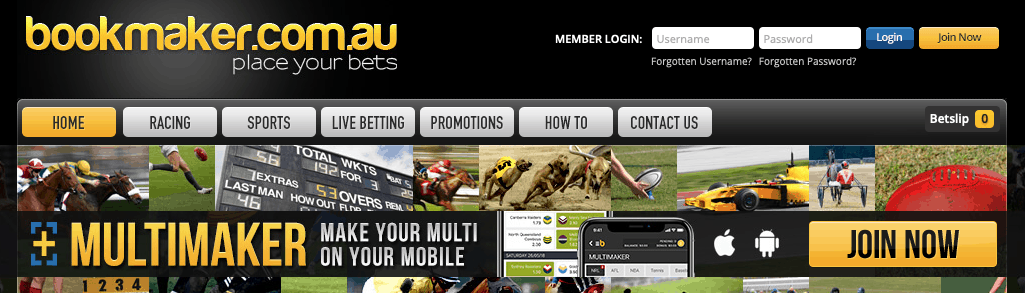 Bookmaker site