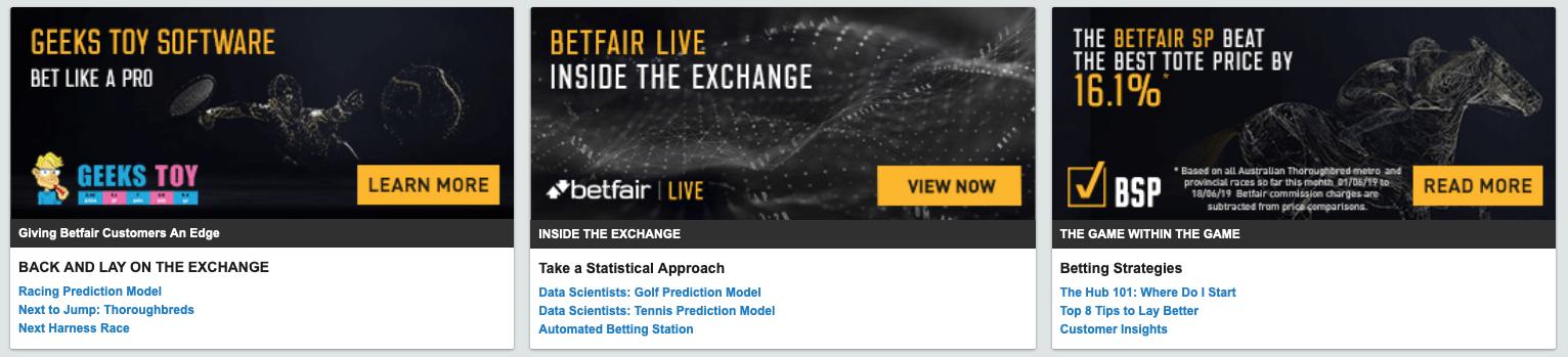 Betfair Australia promo code